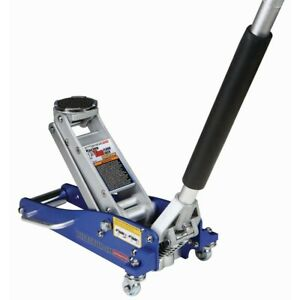 New 1 5 Ton Aluminum Racing Floor Jack With Rapid Pump