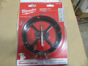 Milwaukee 49 56 0303 Recessed Light Saw Kit 5 3 8 New Factory Sealed Pack