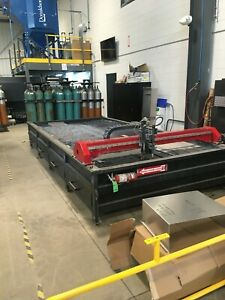 Torchmate Plasma 7 X 16 X table In Good Condition
