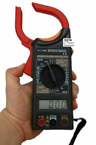 Maynk Dt 266 Clamp Meter Digital Lcd Acdc Voltage Electricity Ampere Measuring