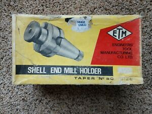 Etm Nmtb 50 X 1 2 Shell End Mill Holder New