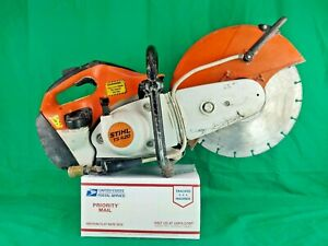 Stihl Ts 420 Concrete Cut off Saw W 14 Diamond Cutting Blade