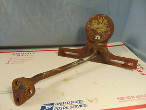 1928 Era Ford Model A Ar Drum Style Tail Light Bracket Parts Original Sedan 29