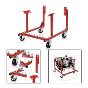 1000 Lb Automotive Engine Cradle Stand Lift Hoist For Chevrolet Chevy V8