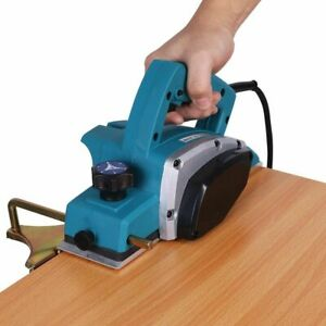 Electric Wood Planer Door Plane Hand Held Woodworking Surface Heavy Duty Tool