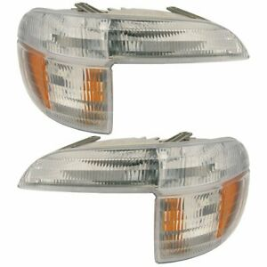 2x Signal Lamp Fit For Ford 95 01 Explorer Mc 97 Mountaineer Pssml Lens