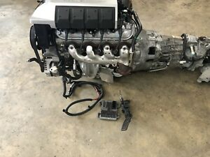 2011 Camaro Ss Ls3 6 2 Engine Liftout Tr6060 Transmission Complete Swap 76k