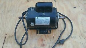 Emerson Motor Model Ks55ag 303 3450rpm 3 4hp 5 8th Shaft Dual Shaft