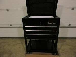 New Snap On Cooler Cart Ice Chest Black Ssx14p2