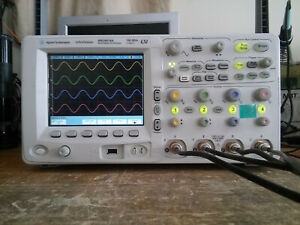 Agilent Mso6014a 4 Channel 100mhz 2gsa s Mso Oscilloscope With Logic Probe