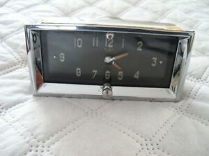1950 1951 1952 Cadillac Dash Clock Dated Aug 3 1950 Free Shipping Very Nice