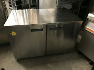 2 Door Delfield Commercial Undercounter Refrigerator Worktop