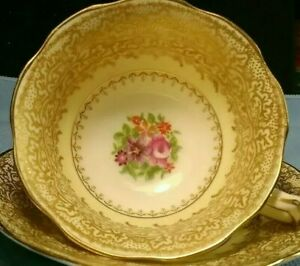 George Jones Sons Crescent China Tea Cup And Saucer Sets England