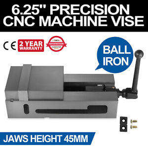 6 3 Cnc Vise Ductile Iron Clamping Fixed Jaw Stable 29kn Filing Good Prestige