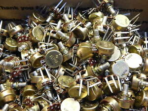 Pc Mount 50k Ohm Potentiometer 2 Watt 3 4 Turn Linear lot Of 303 Pieces