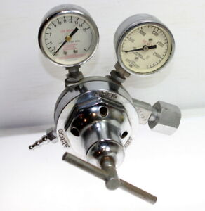 Airco Dual Gauge Air Regulator Max Inlet 3000 Psi
