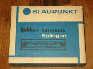 Nos Blaupunkt Mini Car Radio Player Germany Model Solingen