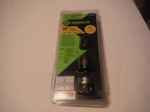 New Greenlee 7211bb 1 2 Slug buster Knockout Punch Kit