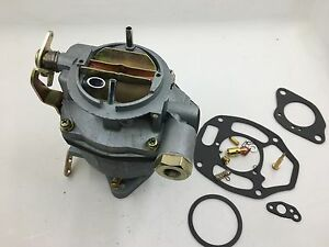 Carb For Rochester 1 barrel 1963 1967 Chevy Gmc Pick up Carburetor 235 Gasket