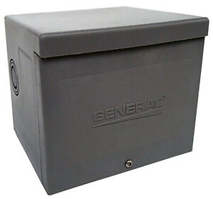 Generac Power Systems Inc Generator Power Inlet Box Resin 30a 6337