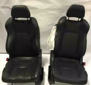 2004 Nissan 350z Convertible 2pc Set Black Power Seats Driver Passenger Ripped