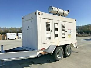 Caterpillar Diesel Generator Prime Power 275kw 3406 Engine Mobile 480 Volt