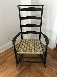 Shaker Wooden Chair With Shawl Back