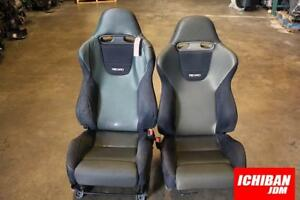 Jdm Recaro Sr3 Honda Accord Euro R Cl7 98 02 Reclinable Bucket Seat Srd Jdm