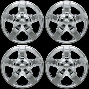17 Chrome Set Of 4 Wheel Covers Full Rim Hub Caps Fit R17 Tire