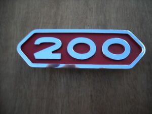 1962 1965 Dodge Sweptline Power Wagon Emblem