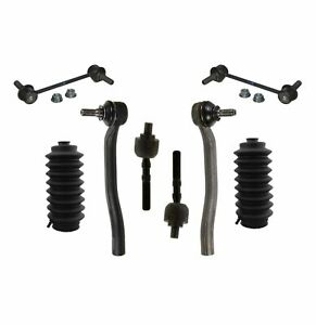 8 New Pc Suspension Kit For Honda Prelude 1997 2001 Inner Outer Tie Rod Ends