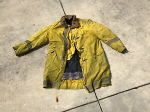 44x44 Globe Firefighter Jacket Coat Bunker Turn Out Gear Rn 20466