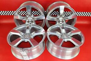 10 11 2012 2013 2014 Chevy Camaro Ss Set Of 4 Staggered 20x8 front Wheels Rims