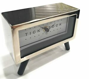 Simple Quality Mid Century Modern Desk Or Shelf Clock For Mid Century Modern