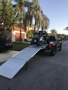 Loaded All V3 Motorcycle Ramp