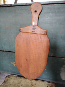 Antique Vintage Style Peel Thin Wood Bread Board Spatula Light Use 26 1 4 X12