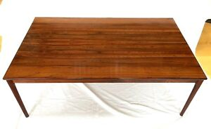 Mobler Norway Rosewood Danish Mid Century Modern Coffee Table 35 W X 59 L X 21 H