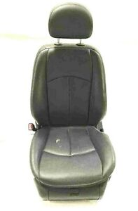 2007 Mercedes E350 Driver Front Seat Black Electric Small Holes Leather See Pic