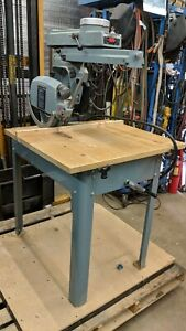 Delta Rockwell 12 Model 33 892 Radial Arm Saw 2hp 230 460v 3 Phase Only
