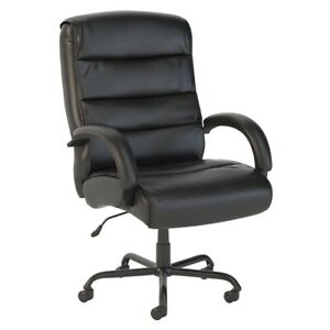 Bush Business Furniture Soft Sense Big And Tall High Back Leather Office Chair