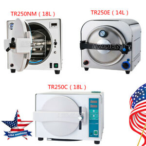3models 14 18 Liter Dental Autoclave Steam Sterilizer Medical Sterilization 110v