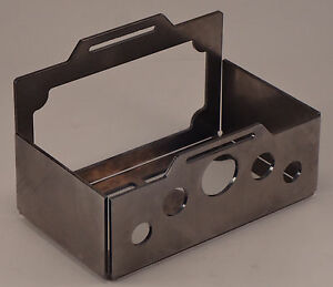 Chopper Battery Box Tray Motorcycle Custom Bobber Cafe Racer Harley Xs Triumph