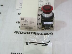 Allen Bradley 800t fxtq10ra1 Red Push Button New In Box