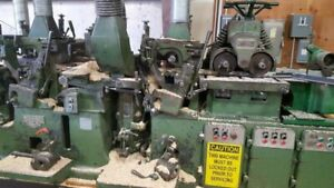Mattison 229 Push Feed Moulder Used In Good Condition