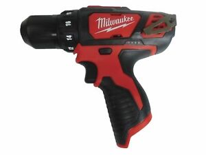 New Milwaukee 2407 20 12 Volt Li ion 3 8 In Cordless Drill driver Tool Only 12v