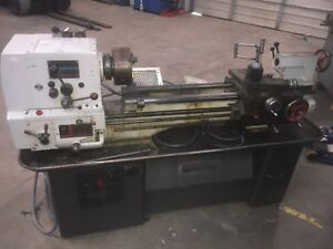 13 18 X 36 Clausing Colchester Geared Head Removable Gap Bed Lathe