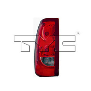 Fits 2003 Chevrolet Silverado 1500 Tail Light Driver Side Nsf Certified