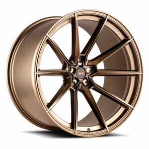20 Savini Sv f4 Bronze Forged Concave Wheels Rims Fits Porsche 981 Cayman