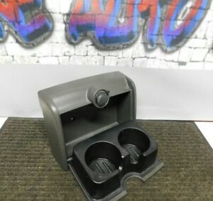 2004 2008 Ford F150 F 150 Rear Jump Seat Center Console Lid Cup Holder Charcoal