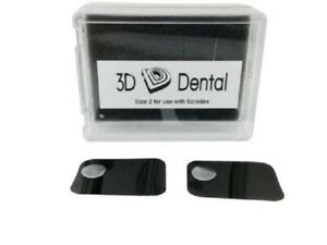 Deal Pack Dental Phosphor Imaging Plates For Soredex Size 0 And Size 4 6 Total